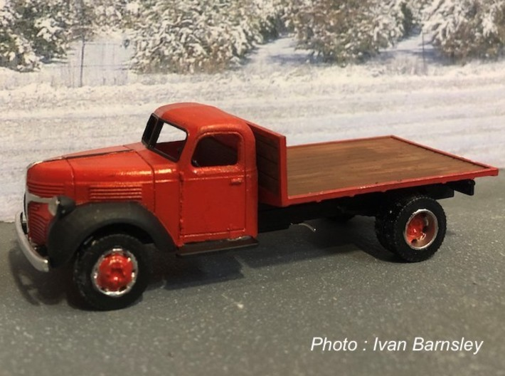 S scale 1/64 - Dodge truck flatbed 3d printed