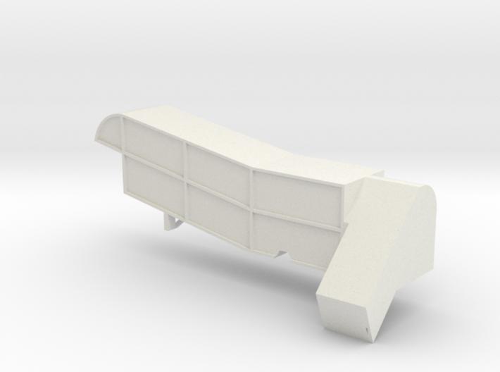 Steam Combine Thresher Body 3d printed
