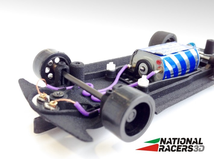3D Chassis - Fly MIII E30 (Inline) 3d printed