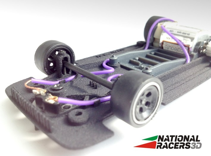 3D Chassis - Fly Lola T70 (SW) 3d printed