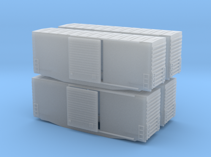 Z Scale high cube 40 x4 3d printed