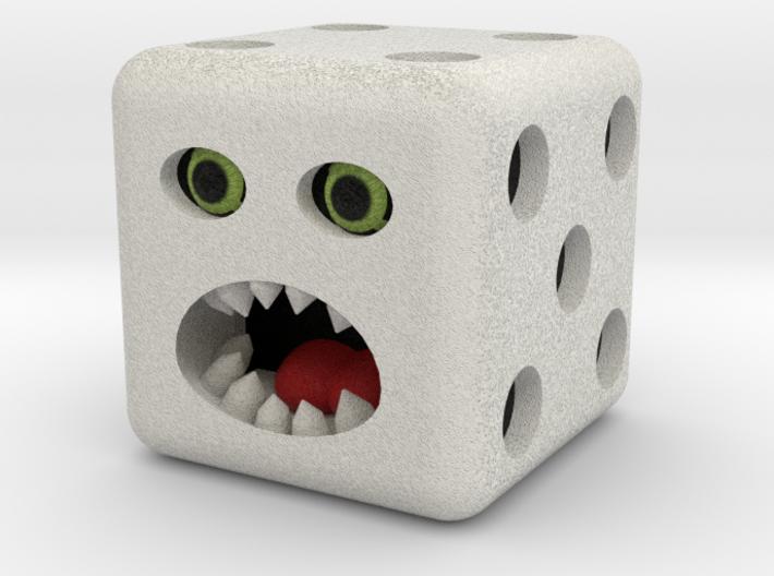 Dice monster test 3d printed