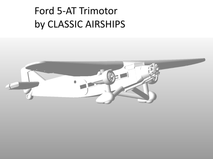 Ford Trimotor  Set of Three 3d printed