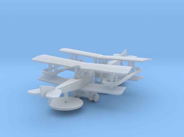Sikorsky S-16 3d printed 1:285 Sikorsky S-16 (x2)