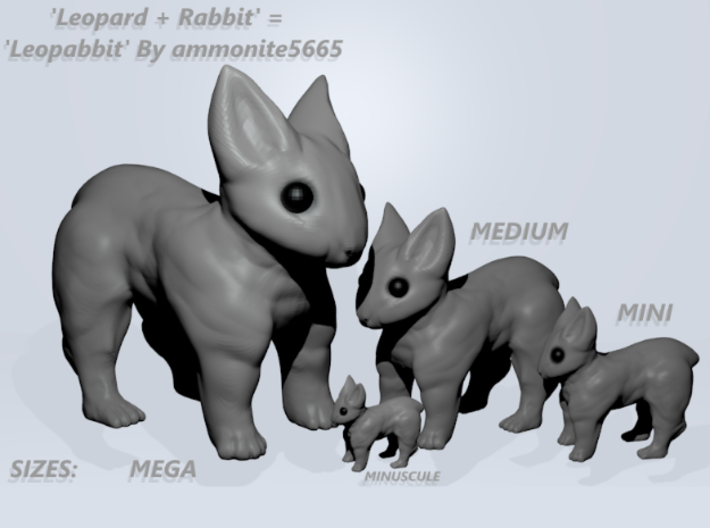 Leopabbit Hollow Mega 3d printed