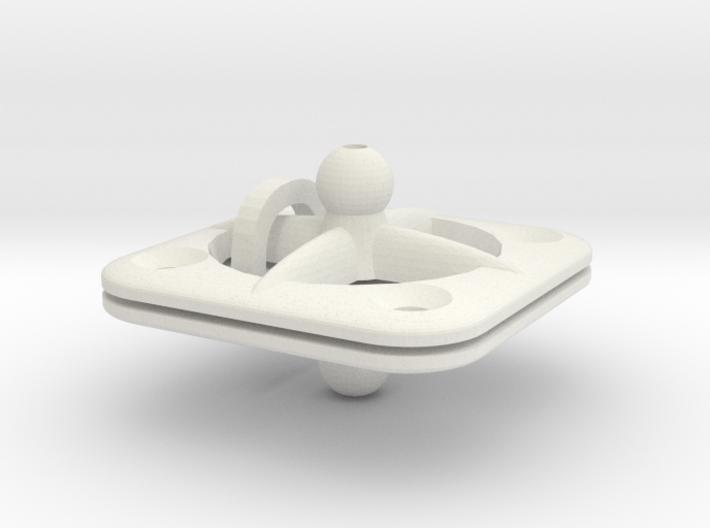 Screw-mount Animation Rig Base for ModiBot 3d printed Screw-mount Animation Rig Base for ModiBot