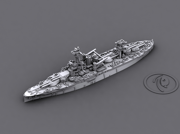 1/4800 US BB NY,TX + CA Wichita 3d printed BB34 New York[1942]