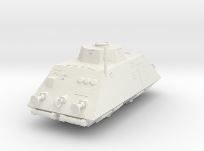AT01 Infantry Car (1/100) 3d printed