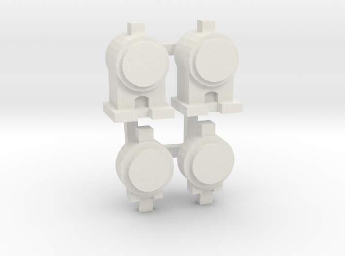 OO / HO Lamp & Tail Lamp x2 3d printed