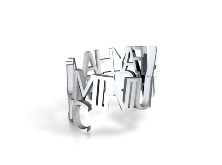Al Fayha Ring 3d printed