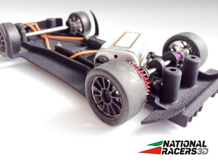 Chassis - SuperSlot Mclaren MP4 (AW/SW) 3d printed