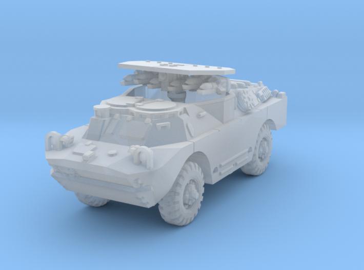 BRDM 2 Sagger (open) scale 1/144 3d printed