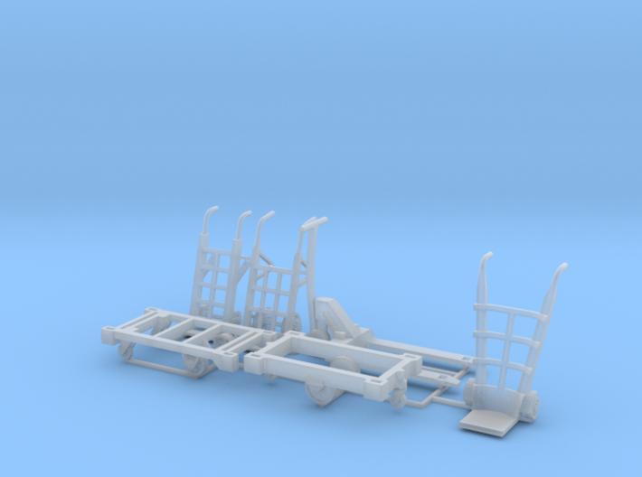 Warehouse equipment 1_87 MM 3d printed