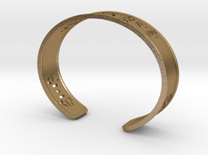 Custom Refuge Name Bracelet 3d printed