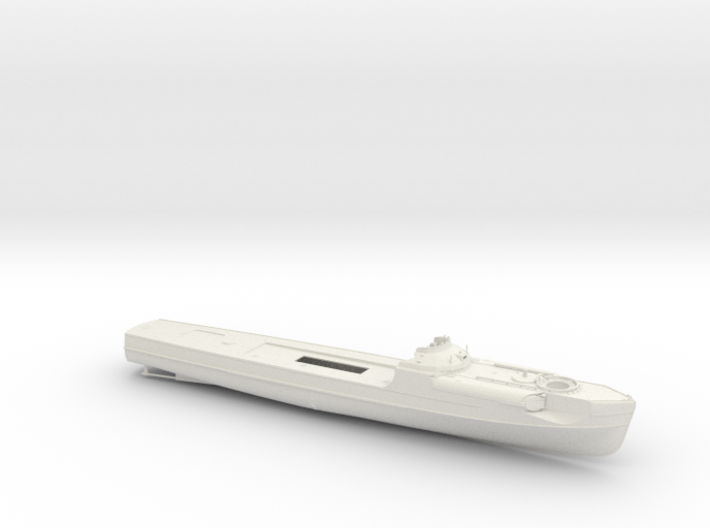 1/100 DKM Schnellboot S100 Hull 3d printed