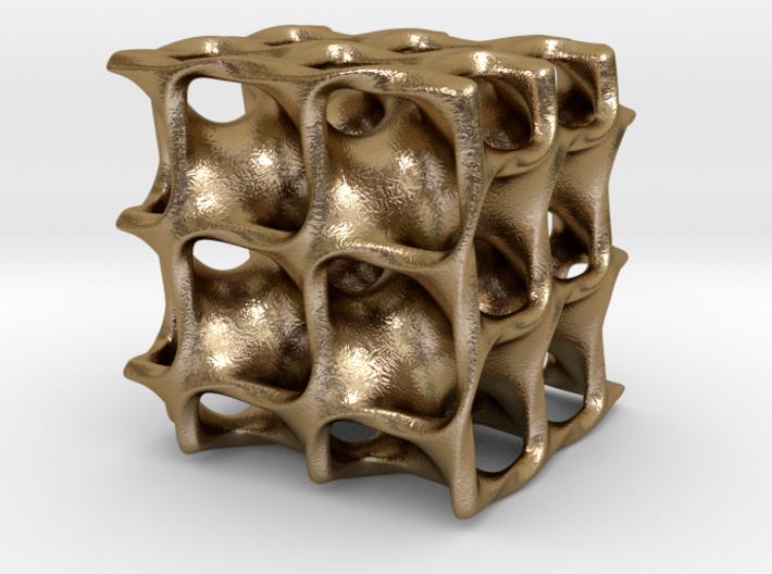 Minimal Surface Cube 3d printed