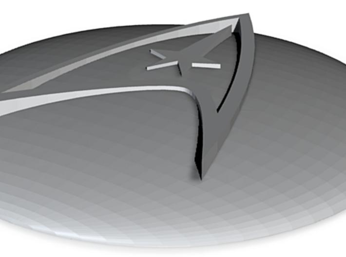 Starfleet Emblem Dome 3d printed