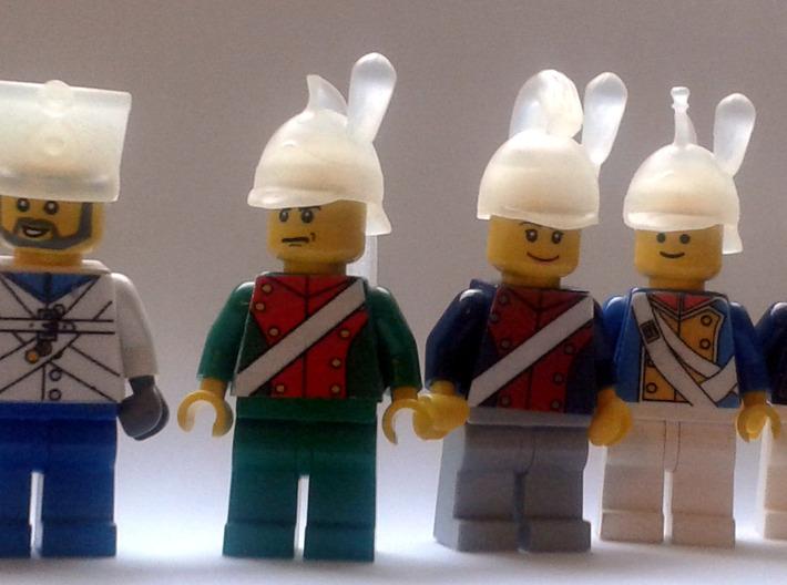 7 x Napoleonic Helmets 3d printed