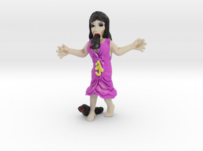 Leech Woman 3d printed