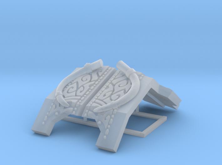 Mastodon: Redem Carapace 3d printed