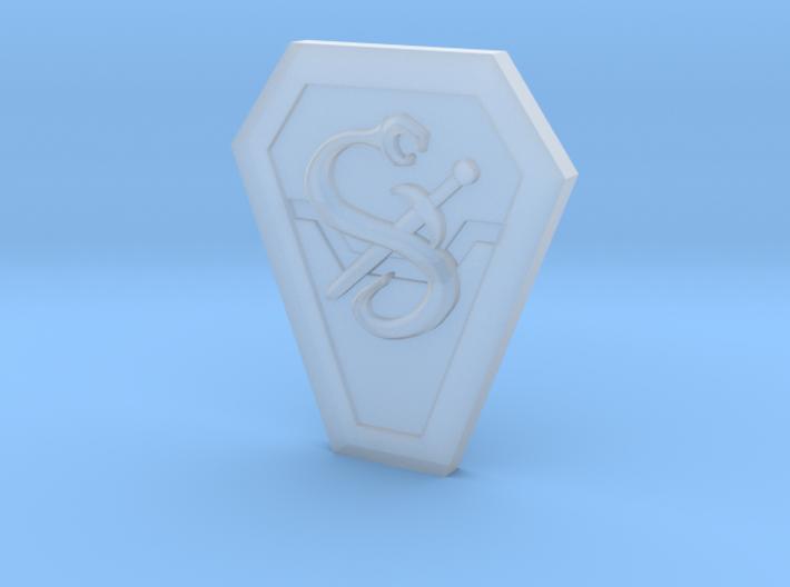 200x Mekaneck Snake Symbol 3d printed