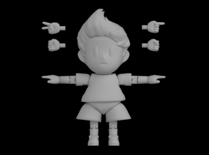 Lucas Super Poseable Action Figure Kit Ver. 2 3d printed