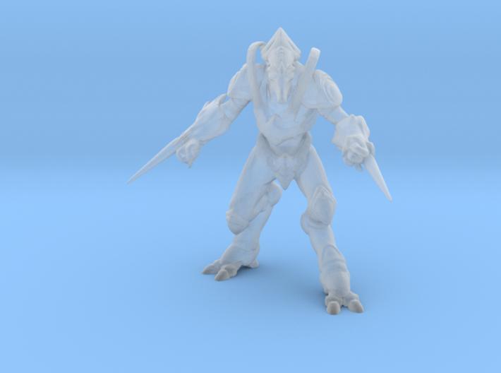 Starcraft Protoss Zealot 1/60 miniature for games 3d printed
