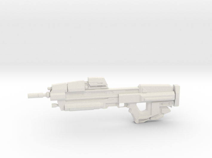 1:6 Miniature MA37 Assault Rifle - HALO 3d printed