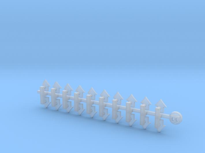 20k Tactical1: Small Bent Insignias 3d printed