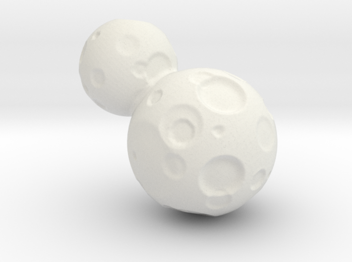 Ultima Thule  Small size 3d printed