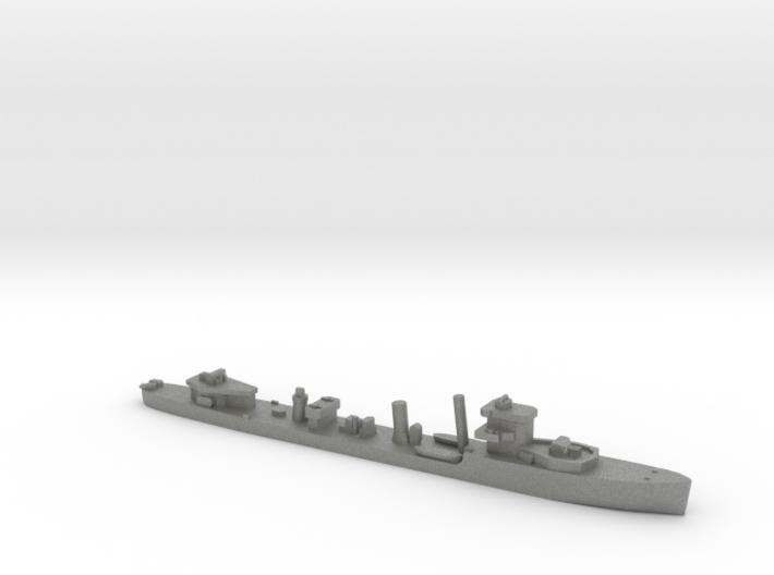 HMS Vega 1:1200 WW2 naval destroyer 3d printed