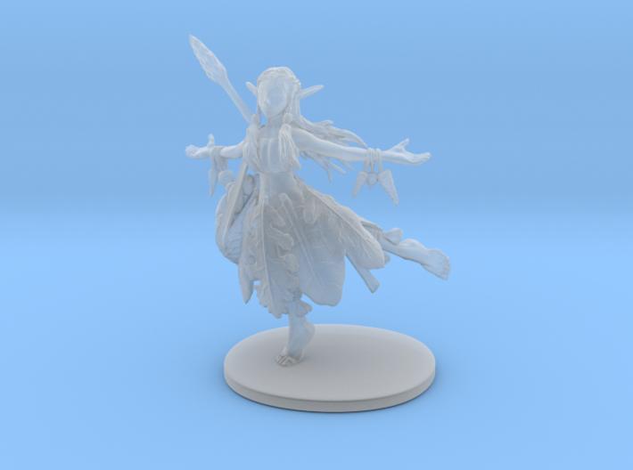 Hippy Elf Sorcerer 3d printed
