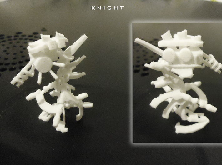 KNIGHT 3d printed