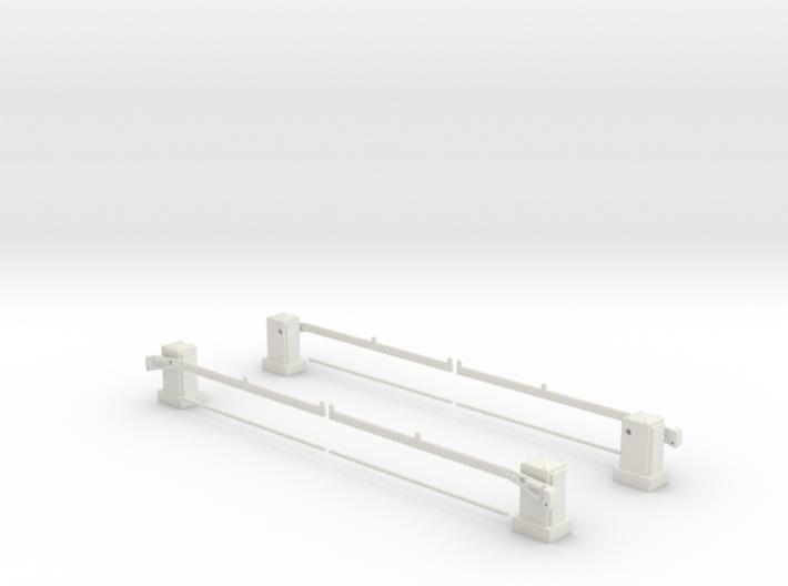 SPX UK level crossing full barrier kit 00,H0 3d printed