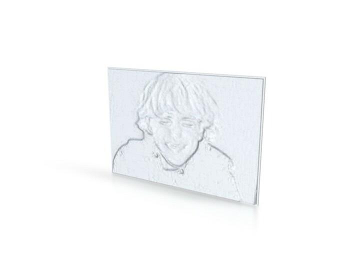 In Loving Memory 3d printed