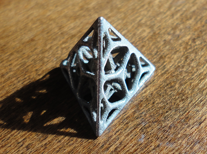 Cage d4 3d printed