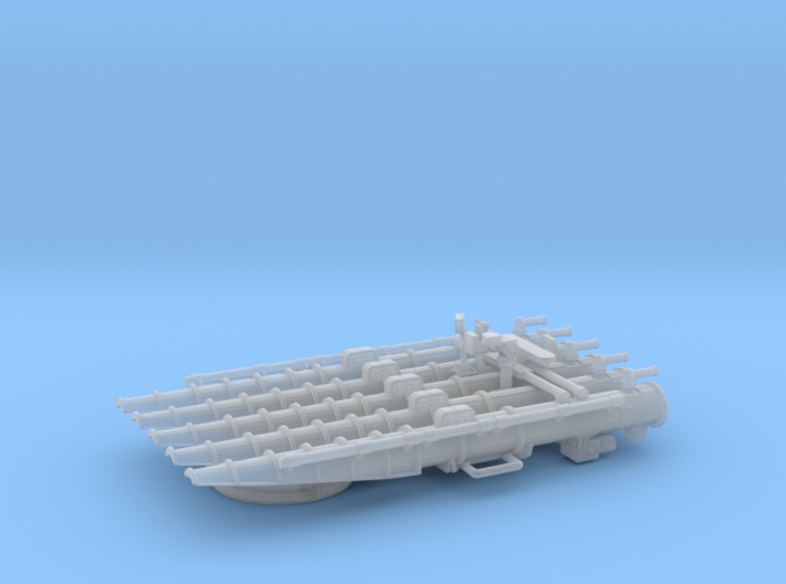 1/125 USN Quintuple Torpedo Mount 3d printed