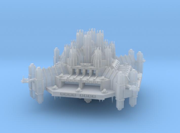 Navy Ramilies Fortress 3d printed