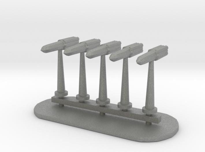 Rockets Sprue - Variant 4 3d printed