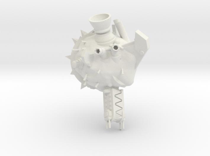 ! - Space Rok Ram Rock Concept 1 3d printed
