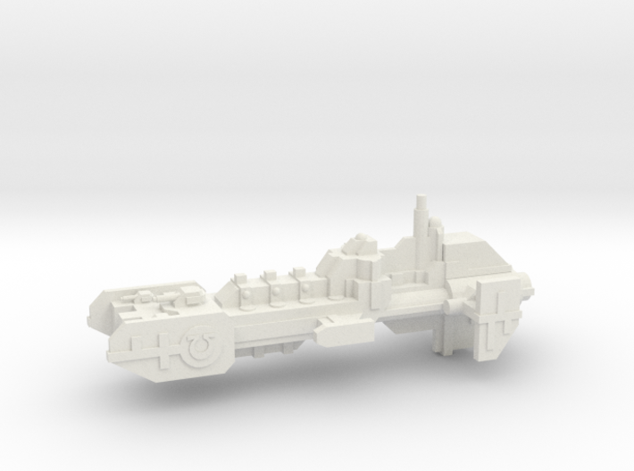 Frigate - Concept A 3d printed