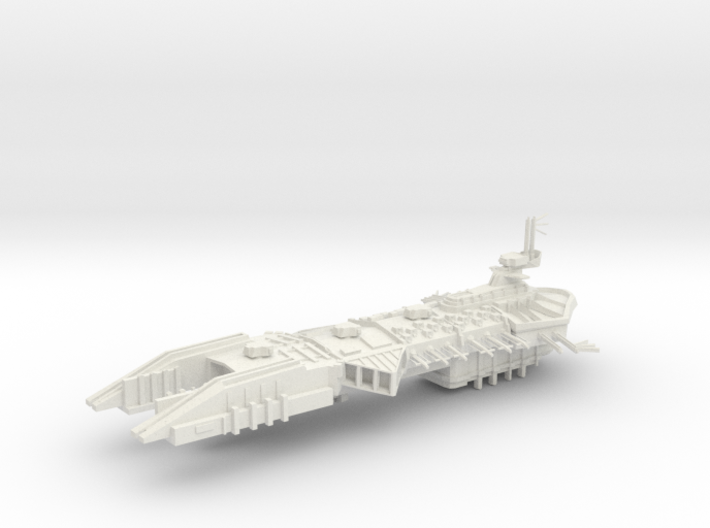 Despoiler Class Capital - With upgraded under weap 3d printed