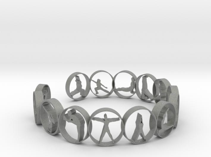 Yoga bangle 54 mm 3d printed