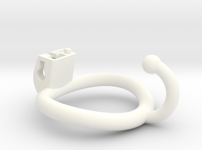 Cherry Keeper Ring - 51x42mm Wide Oval (~46.6mm) 3d printed