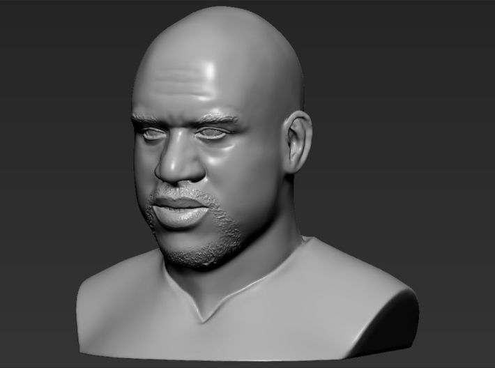 Shaq ONeal bust 3d printed