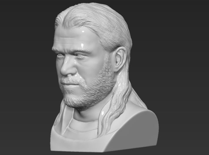Thor bust 3d printed