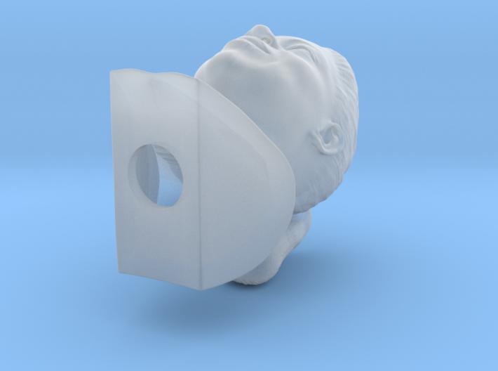 Oprah Winfrey bust 3d printed