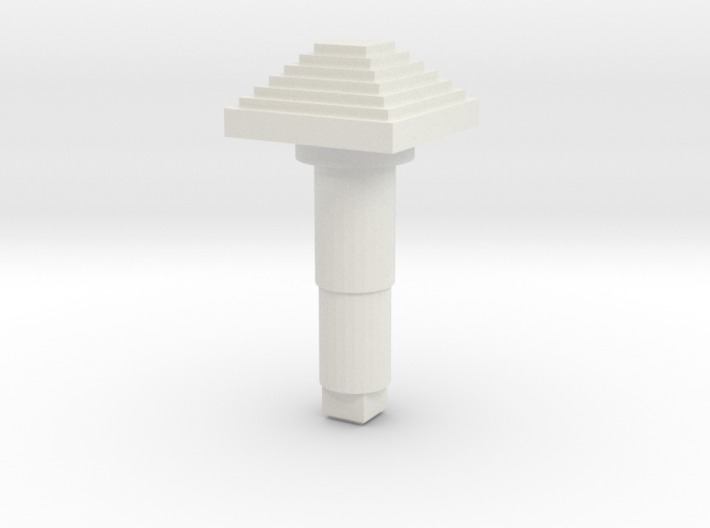STEM_4WAY_COOLIE_7_SMALL_PYRAMID 3d printed