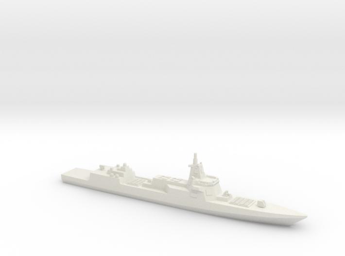 055 Destroyer (2017), 1/2700 3d printed