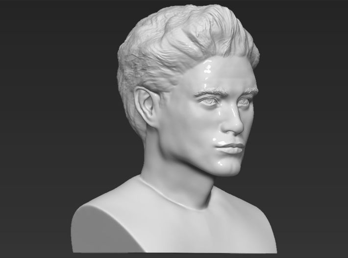 Edward Cullen from Twilight bust 3d printed